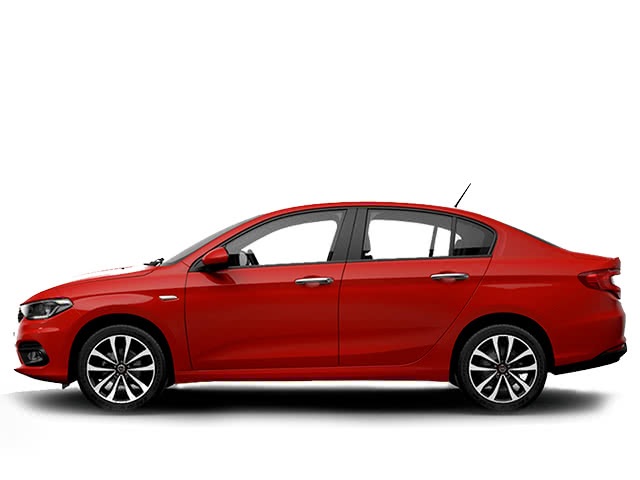 Rent a Fiat Tipo automatic or manual all inclusive at the airport with Málaga All Included Car Hire