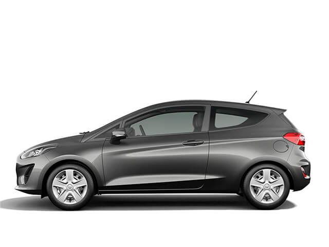 Rent a Ford Fiesta automatic or manual all inclusive at the airport with Málaga All Included Car Hire