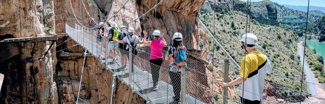Rent a car with Malaga All Included Car Hire and visit Caminito del Rey. Feel the freedom of nature.